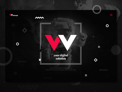 Wazzupa // development & design agency // new identity identity branding webdesign vector ux ui universe coding agency digital development design