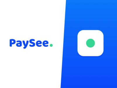 Paysee // logo / interface ux ui paysee logo minimalism brand simple illustration fintech finance
