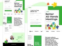 Slido LP // I want my free eBOOK now / ebook website userinterface design ui webdesign web landingpage