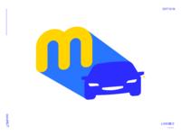 M+Car Logo