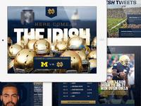 Notre Dame Football App