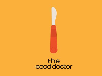 The good doctor typography design poster design illustration ill graphic design
