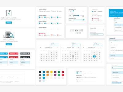 UI Patterns buttons date picker sliders colorscheme forms modules pattern library pattern ui