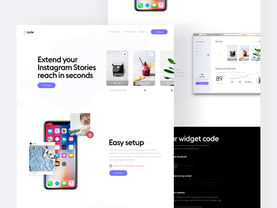 iode product design design ui ux minimalistic interface minimal simple app white ui clean