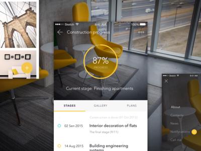Apartment app concept