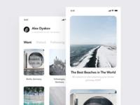 Travel app #1