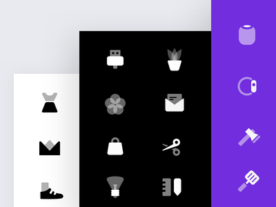 Stockholm Duotone Icons illustration icons set icon glyph duo tone clean