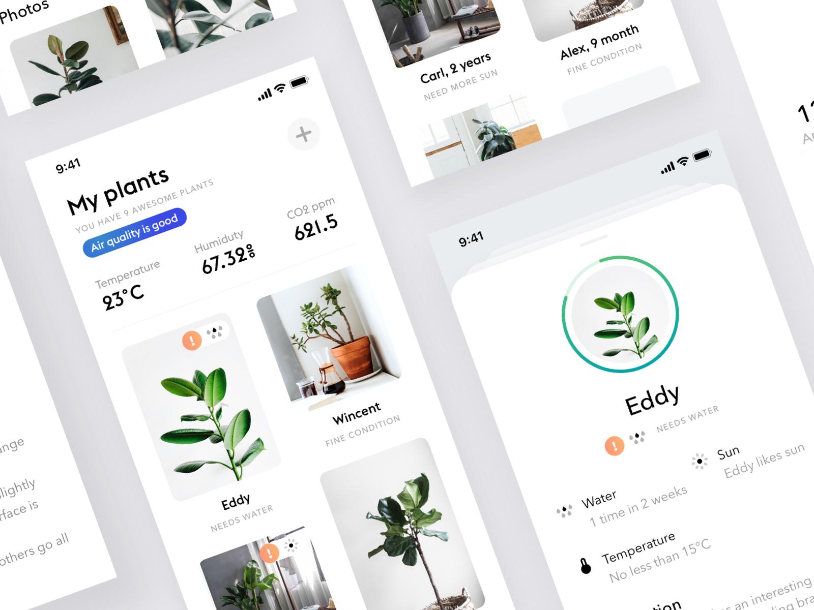Plants app 3