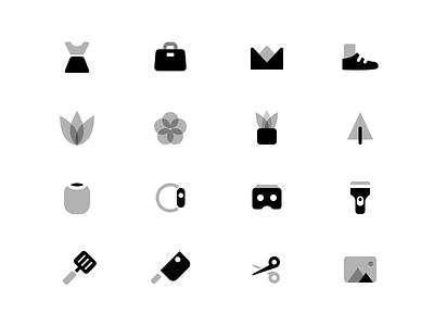 Duotone icons duotone icon icons set duo tone clean minimal simple glyphs icons illustation