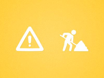 Icons yellow