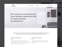 Cannaraise Website - About Page