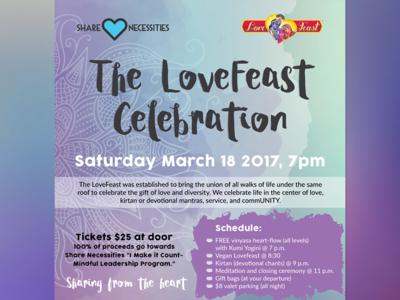 LoveFeast Flyer