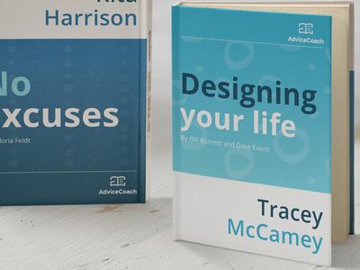 Ebook cover design for Advice Coach