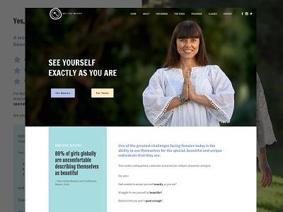 Melissa Mason Website wordpress copywriting uiux website