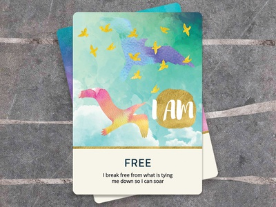 I AM Oracle Soul Cards indesign photoshop illustrator illustration tarot oracle cards