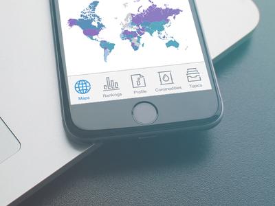 Mini icon pack for iOS app icon ios map ranking profile commodities topics