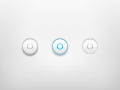 Power Button power button switch on off ui glass clear