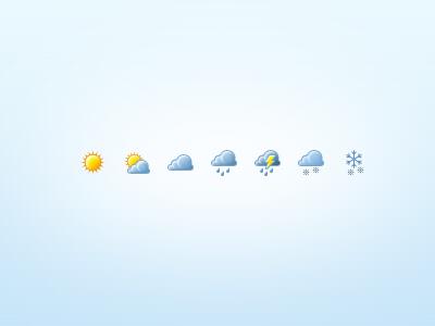 Weather Icons weather icon icon set sun cloud rain snow