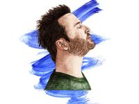 Ed Templeton Watercolor Portrait