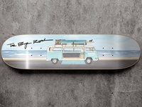 VW Bus Skateboard Graphic - The SunnySide Company