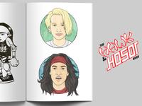 Tony Hawk & Christian Hosoi Illustrations | Artist Tribute Book