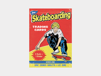 Pro Skateboarding Trading Cards Pack Cover