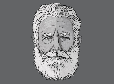 Illustration of James Turrell