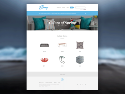 Buoy Homepage buoy water ui web wayfair