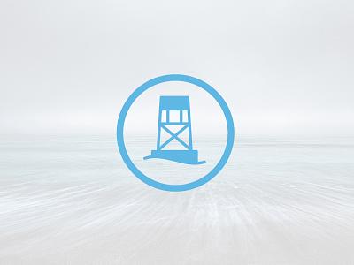 Buoy Badge badge ocean logo water buoy