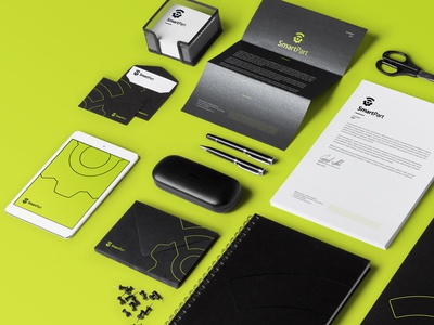 SmartPart Stationery gear stationery technology tech branding app