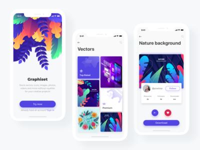Graphiset - Mobile App