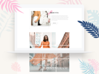 Online Shop Landing Page