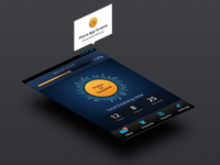 Smartphones App Concept like GrooveShark