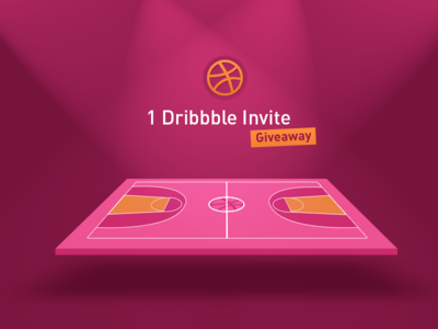 you want to join the game?! 1 Dribbble invite Giveaway!