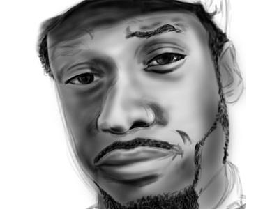 Digital Illustration - Portrait illustration digital drawing portrait