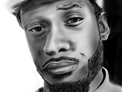 Digital Illustration - Portrait drawing portrait illustration digital