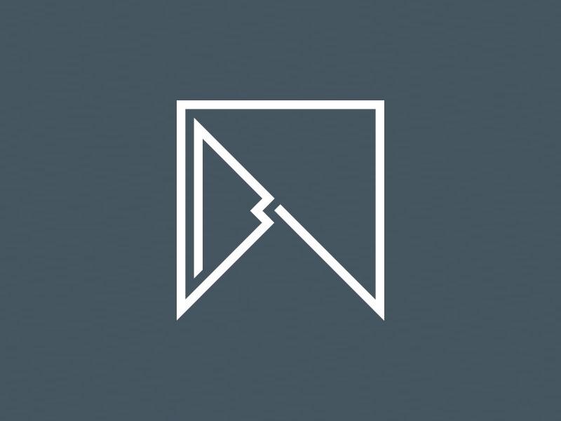 Personal Logo w b branding logo