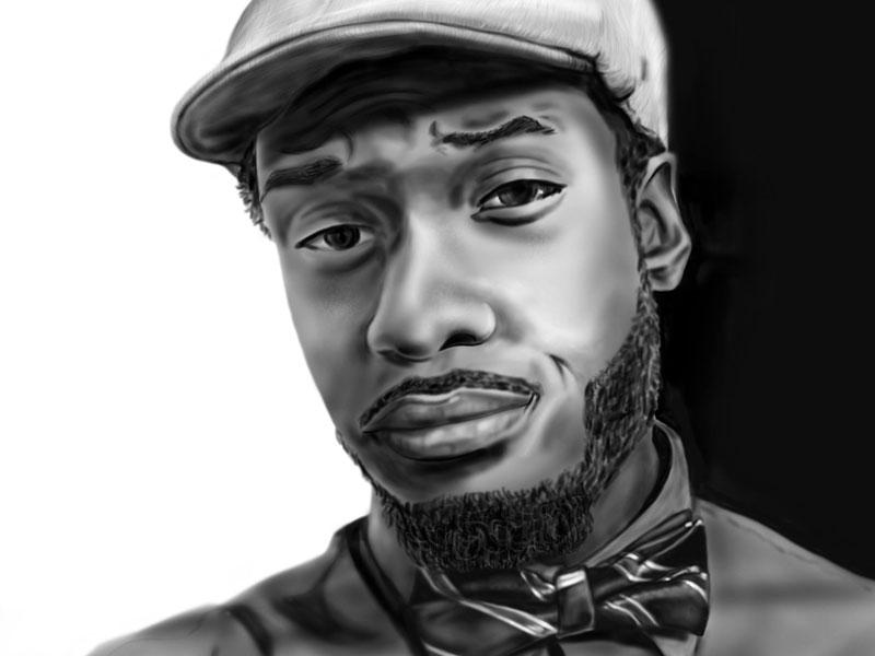 Digital Portrait Illustration drawing portrait digital illustration