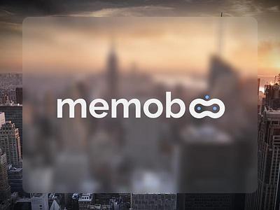 Memoboo RoboTech NewYork Startup Logo Design robot robotics tech logo design
