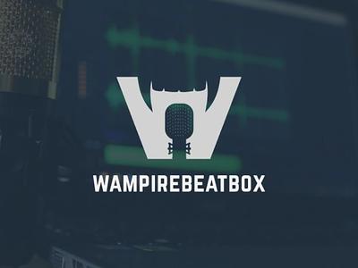Wampirebeatbox Logo Design For A Hungarian Artist