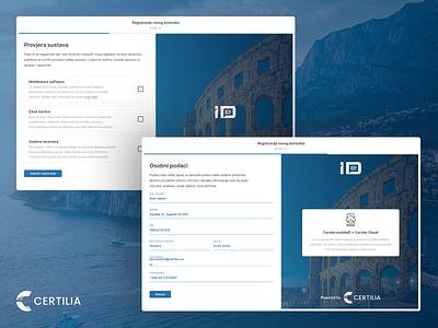 eID Activation Process & Certilia mobileID Activation certilia digital eid abstract design creative simple clean minimal