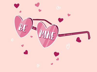 Pink Shades pink valentines sunglasses