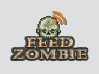 Feed Zombie logo pixel