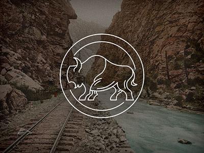 Copper Nickel V2 identity animal monoline logo
