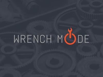 WrenchMode branding maintenance startup identity logo