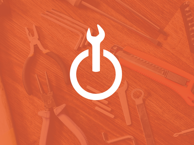 WrenchMode Icon startup logo maintenance identity branding