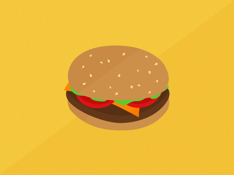 Burger UI food