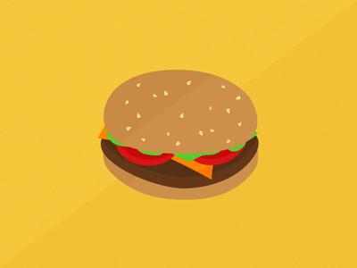 Burger UI food