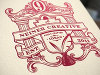 Letterpress Crest