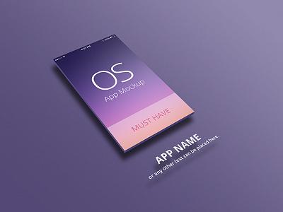 iOS App Mockup ios app mockup iphone ipad psd